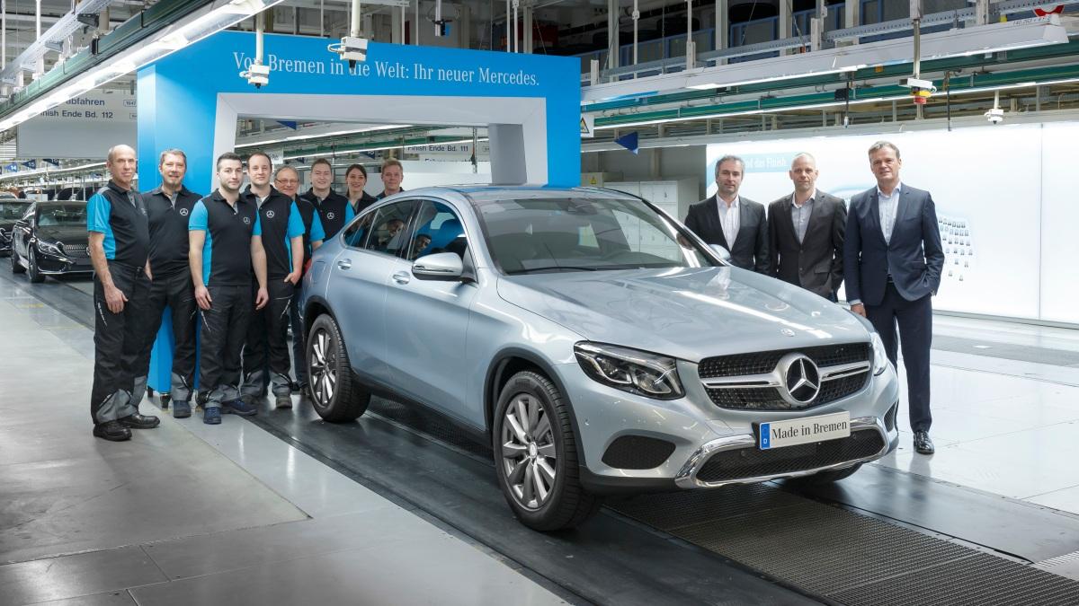 Mercedes GLC Coupe começa a serproduzido