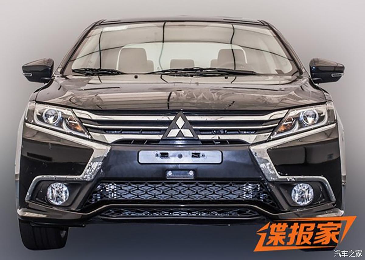 Segredo: Mitsubishi Lancer ganha facelift naChina