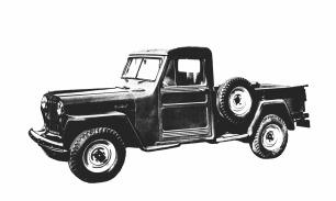 1947 Jeep(R) Pickup Truck. (J-0275)