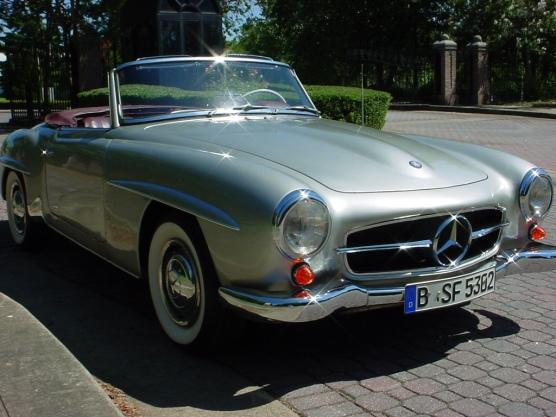 Silver190sl 091