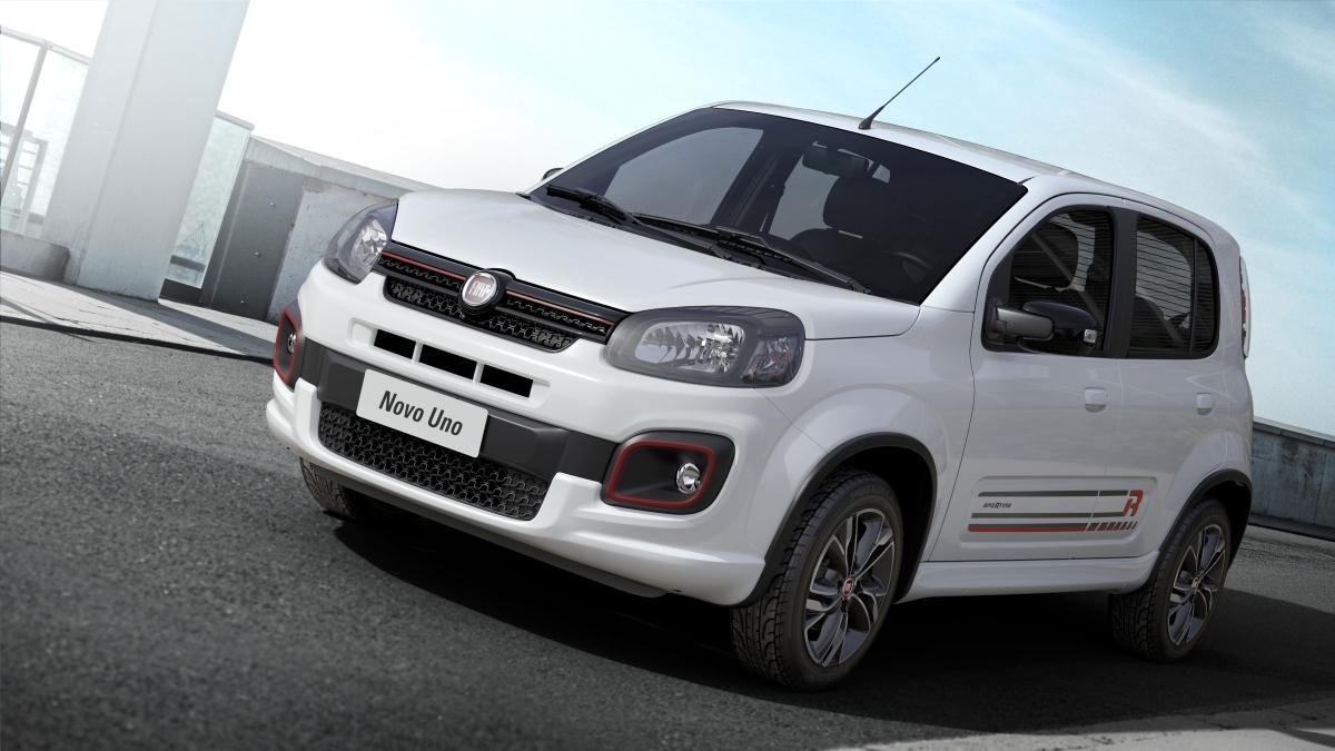 Fiat confirma Uno 2017 reestilizado e com novosmotores