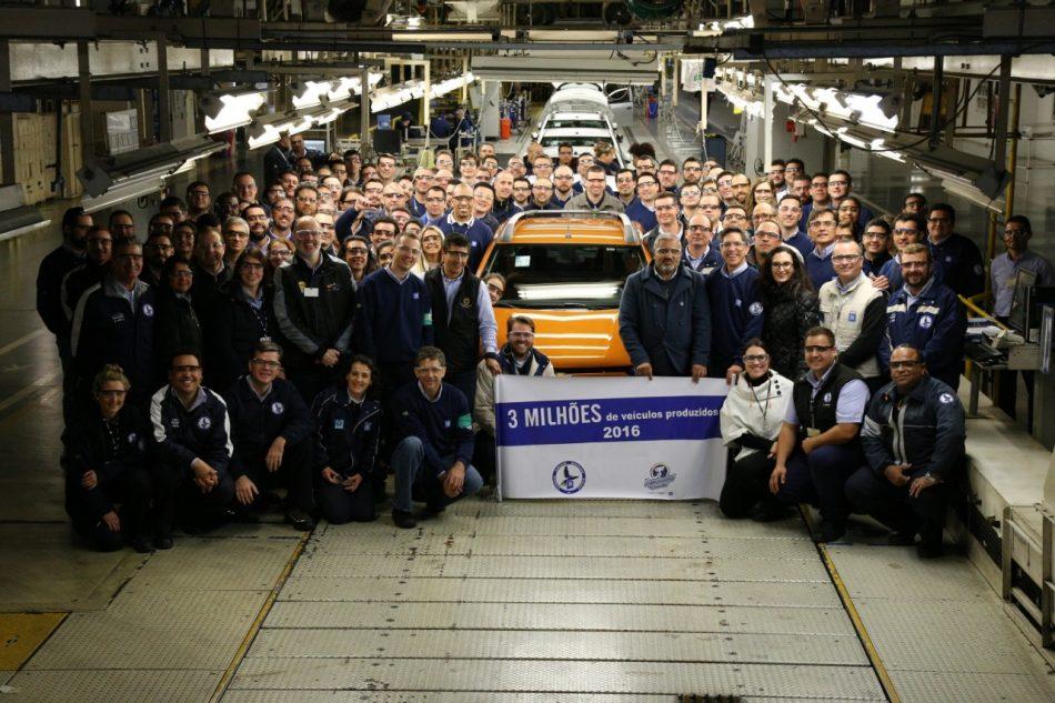 Fabrica da GM em Gravataí atinge a marca de 3 milhões de veiculosproduzidos