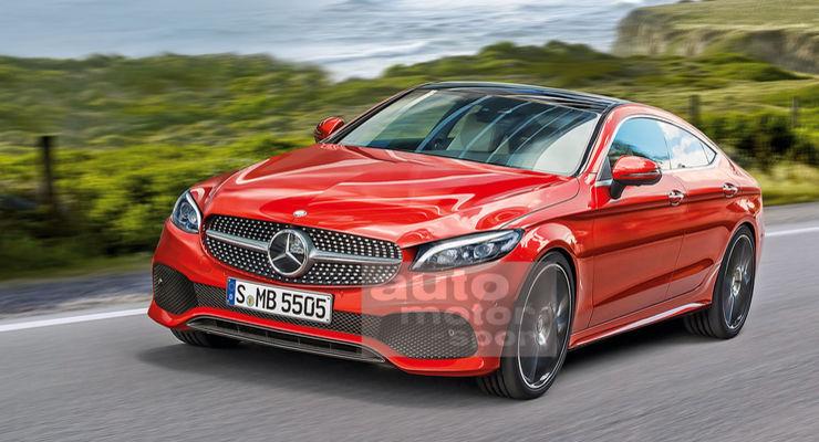 Mercedes CLC (coupe 4 portas do classe C) chega em2019