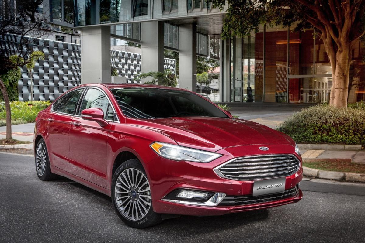 Novo Ford Fusion 2017 chega aoBrasil