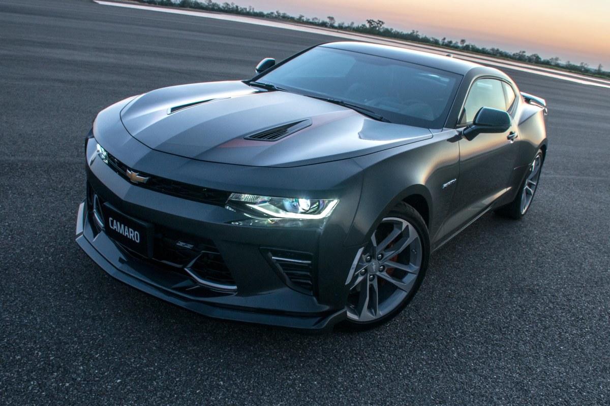 Nova geração do Chevrolet CAMARO chega ainda este ano noBrasil.