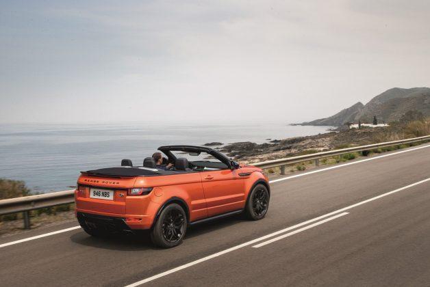 Range Rover Evoque terá apenas 45 unidades disponíveis noBrasil