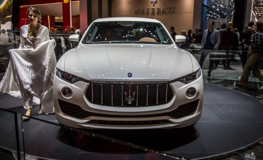 SALÃO DE SP: MaseratiLevante