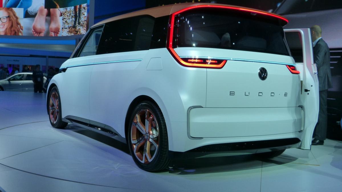 SALÃO DE SP:VolkswagenBUDD-e
