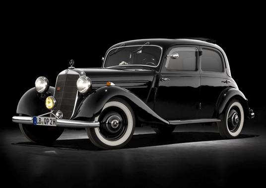 Mercedes W136: A primeira geração do Classe E(1936-1955)