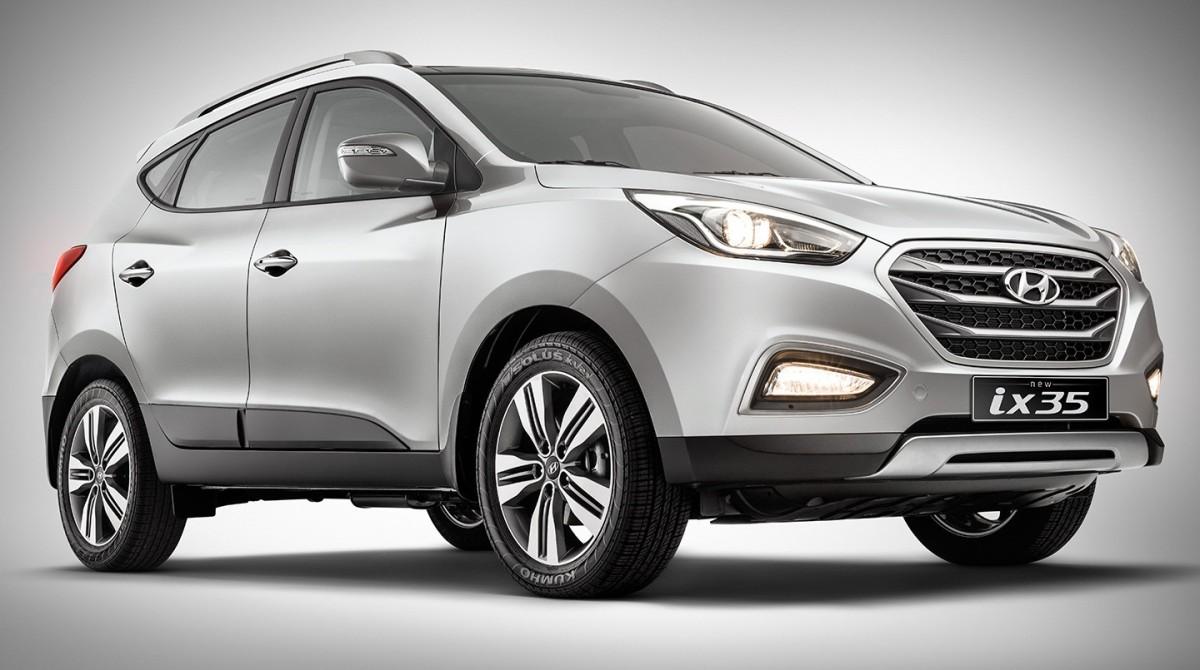 Versão intermediaria GL do Hyundai ix35 ganha controles de estabilidade e tração e parte de R$107.050