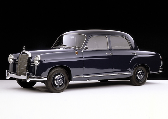 Mercedes-Benz W120 (1953-1962): 2ª geração do ClasseE