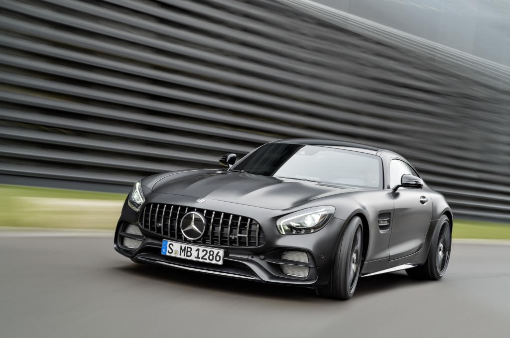 Salão de Detroit: Mercedes-AMGGT