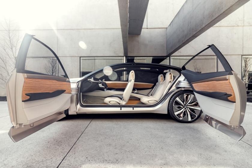 Nissan Revela conceito Vmotion 2.0 na edição de 2017 do Salã