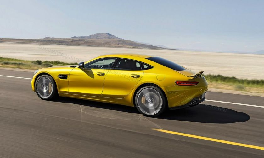 2019 Mercedes-AMG GT4 Limited