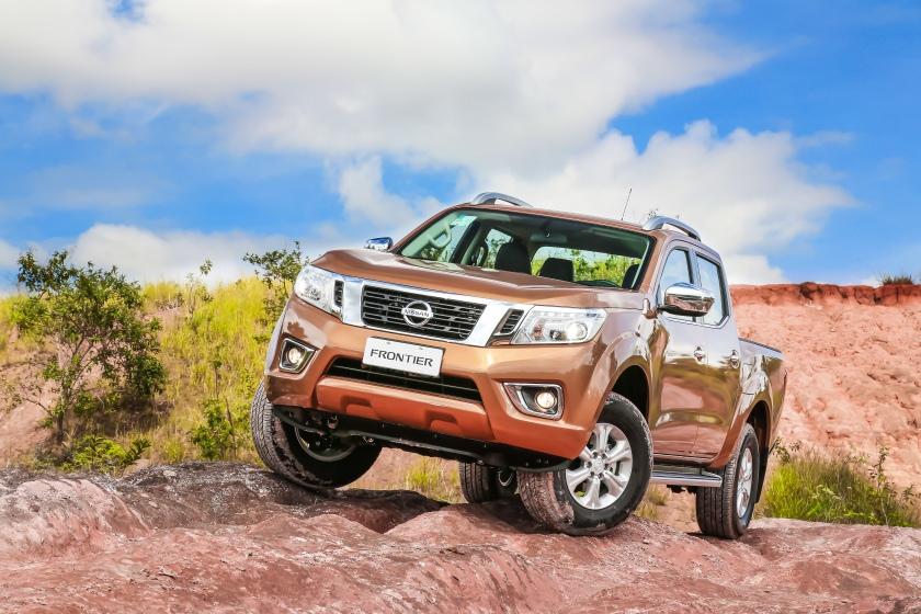 Nissan Frontier 2017: é mais que força
