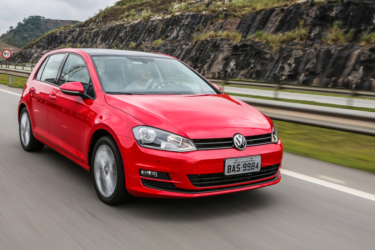 VW Golf é o veículo mais seguro produzido no Brasil, de acordo com o LatinNCAP