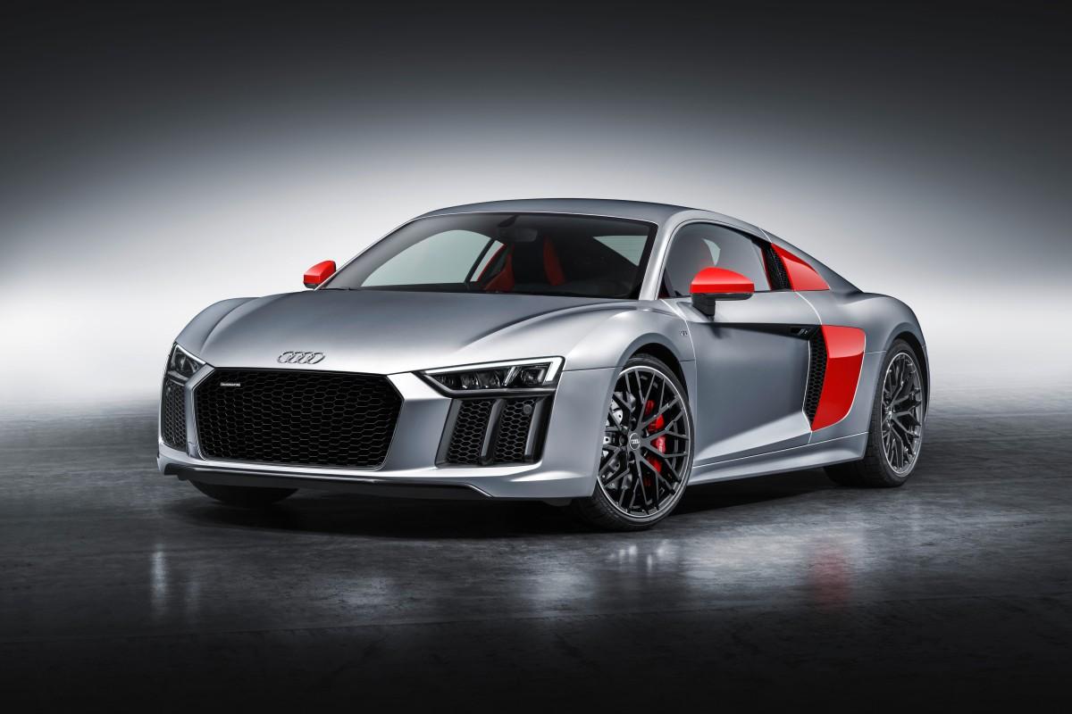 """Salão de NY: Audi R8 Coupe edição """"AudiSport"""""""