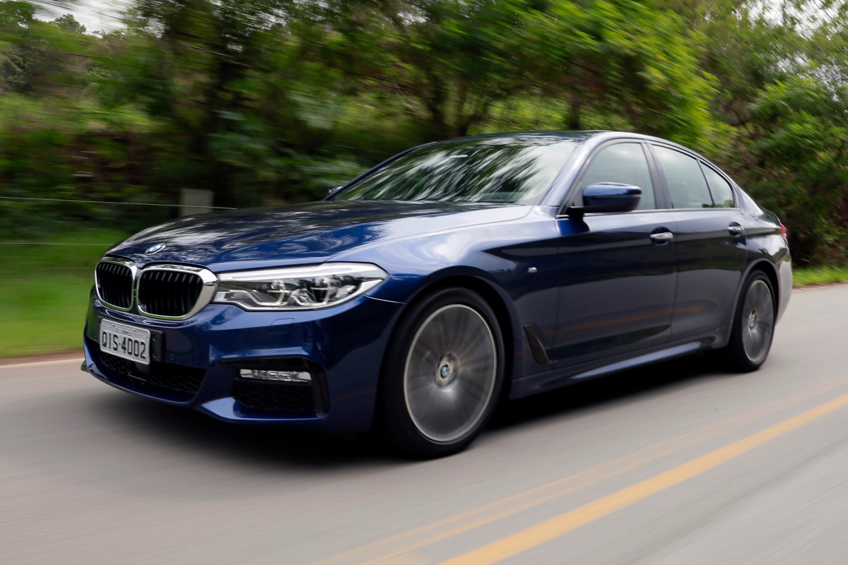 Novo BMW Série 5 chega ao Brasil em maio mais eficiente etecnológico.