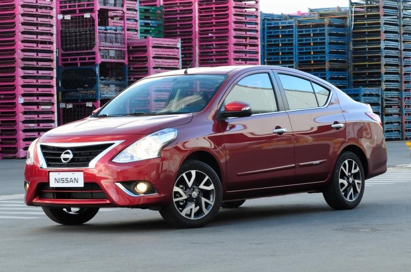 Nissan Versa: mais de 100 mil unidades no Brasil