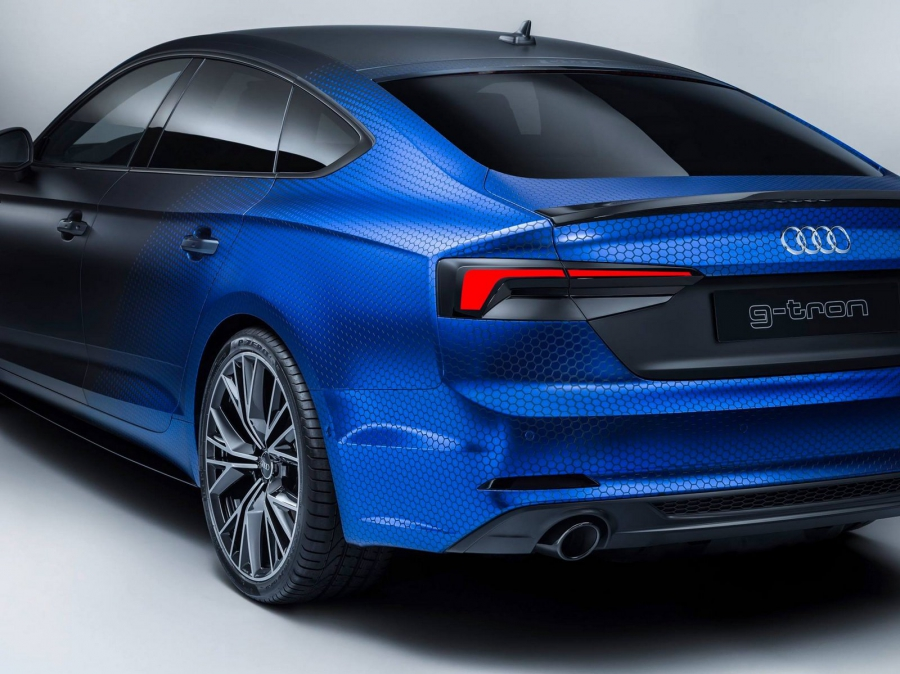 Protótipo Audi A5 g-tron tem autonomia de 950km