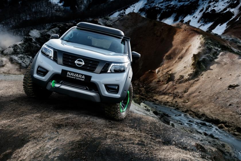 Nissan Navara EnGuard Concept, a picape elétrica de resgate, es