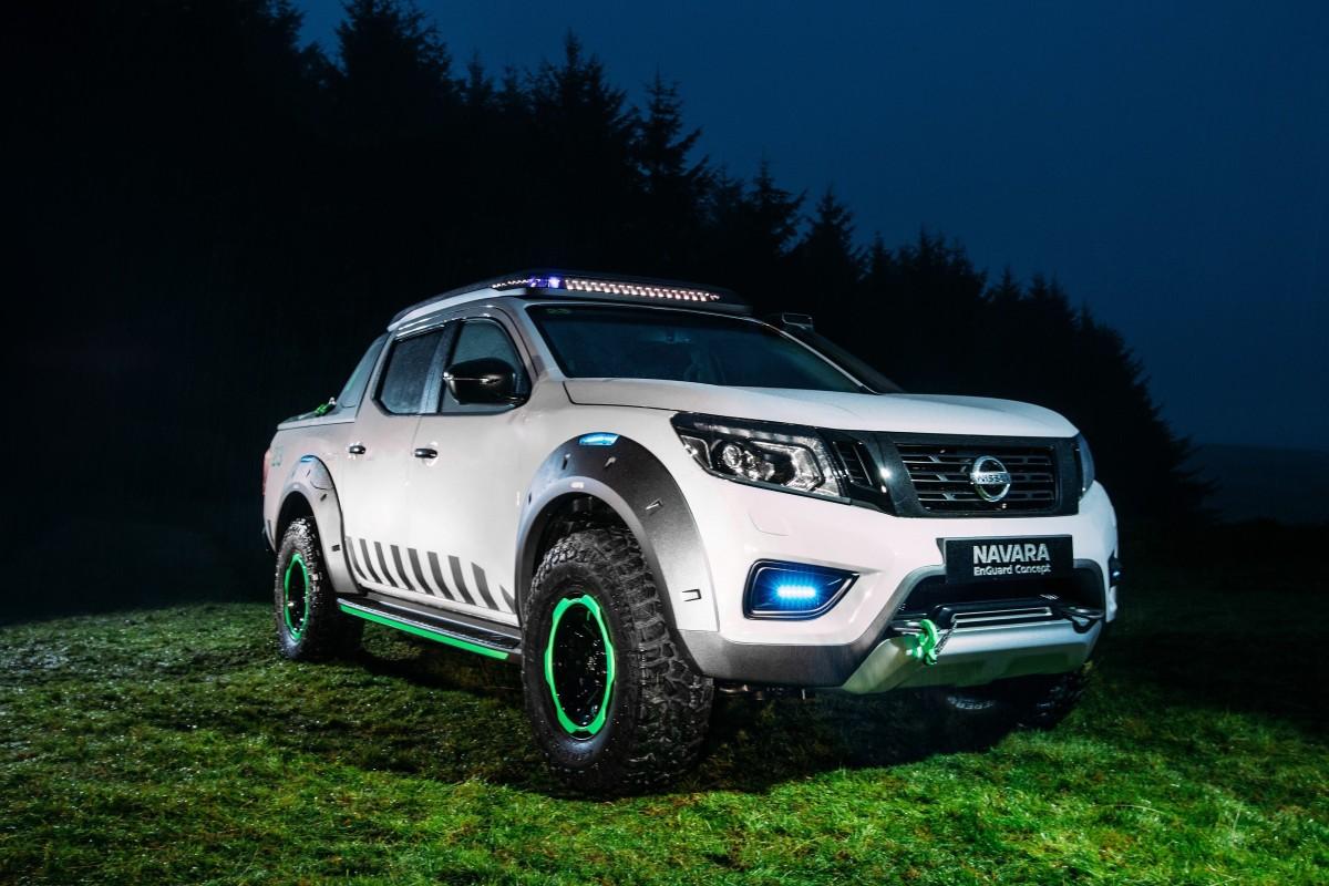 Nissan Navara EnGuard Concept, a picape elétrica de resgate, estará no Salão do Automóvel de BuenosAires