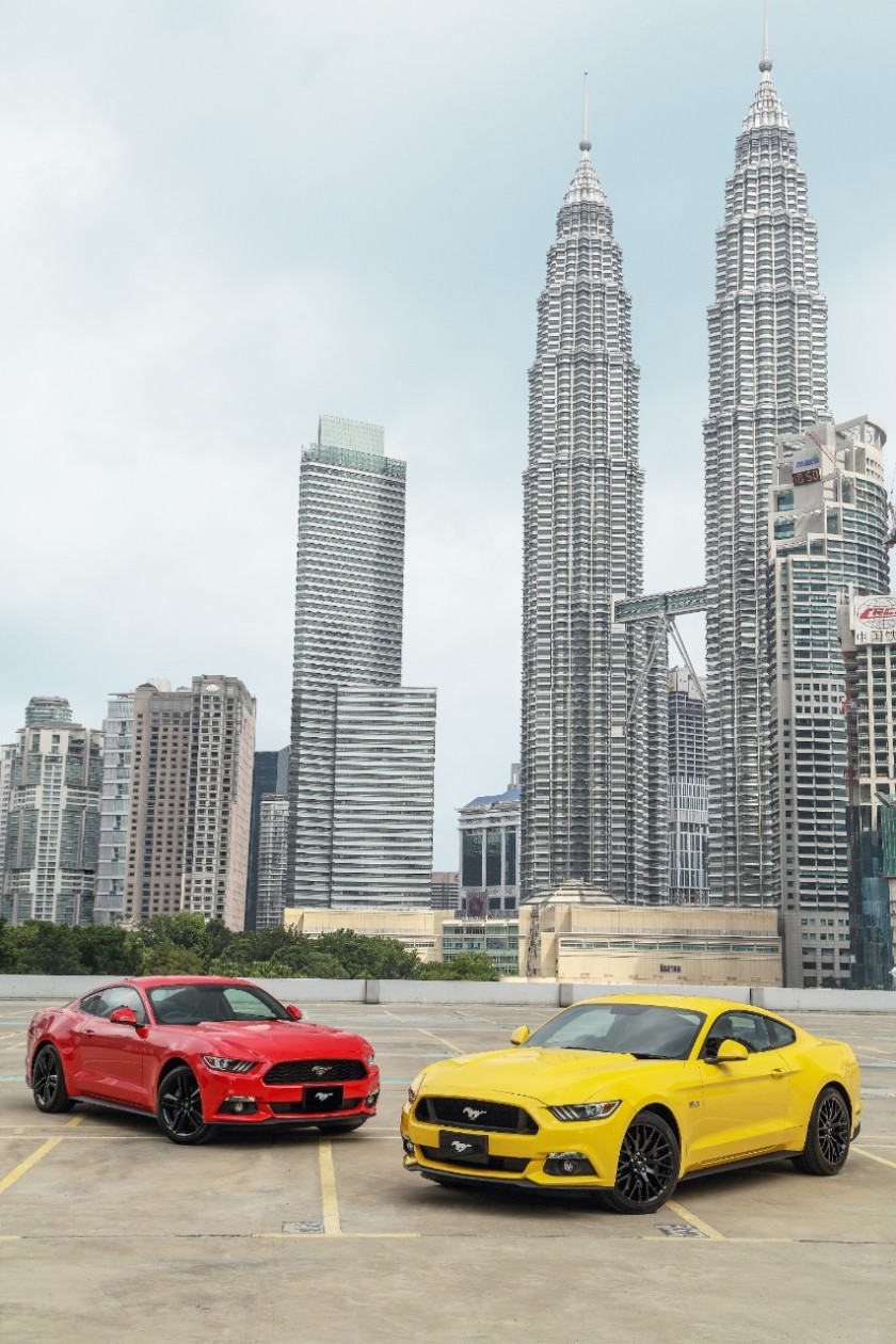 Mustang-Malásia