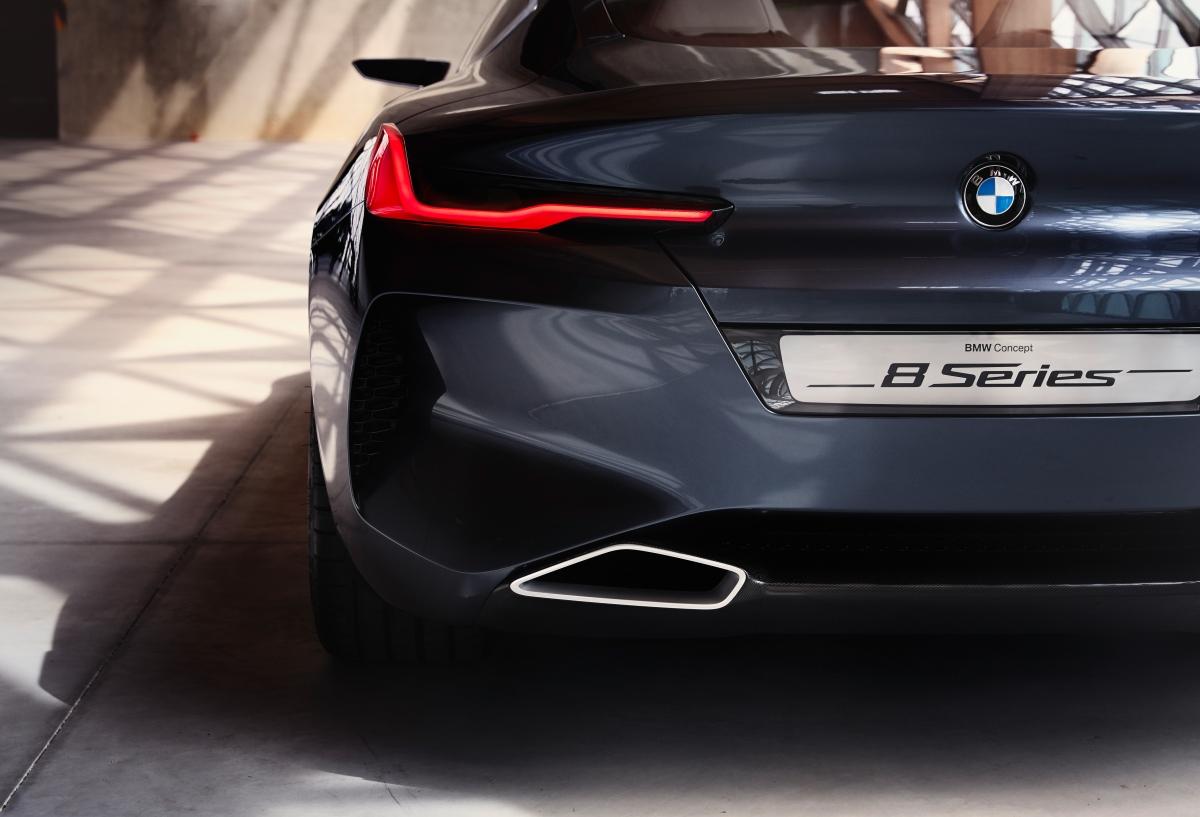 BMW Série 8 Concept érevelado
