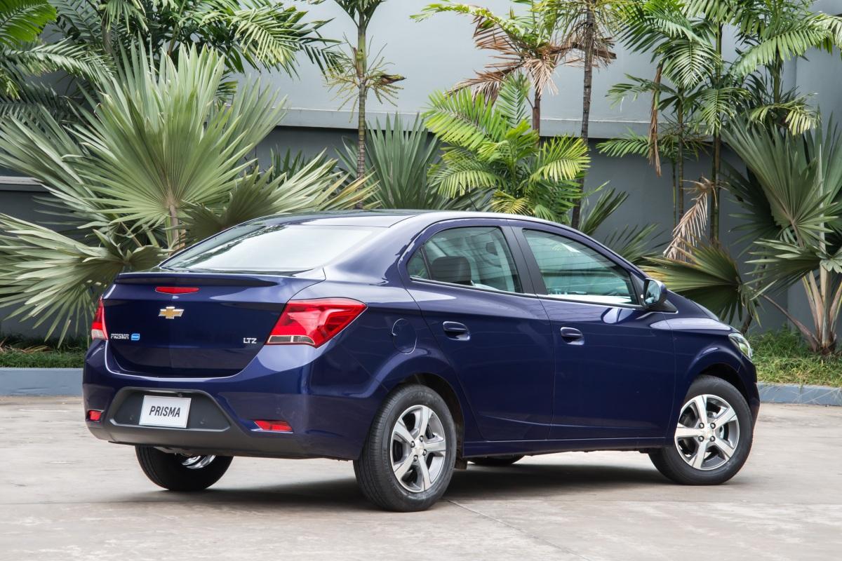 Chevrolet apresenta Prisma 2018 com algumasnovidades