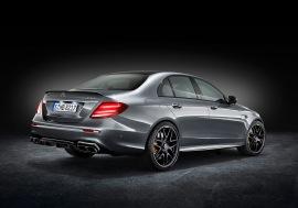 Mercedes-AMG E 63 S 4MATIC+, Studioaufnahme;Kraftstoffverbrauch kombiniert: 9,1 – 8,8l/100 km; CO2-Emissionen kombiniert: 207 - 199 g/km Mercedes-AMG E 63 S 4MATIC+, studio shot;Fuel consumption combined: 9,1 – 8,8 l/100 km; Combined CO2 emissions: 207 - 199 g/km