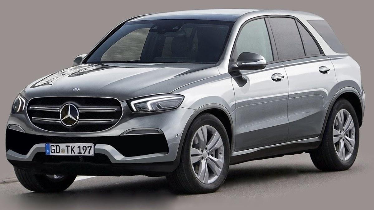 SEGREDO: Projeção do Mercedes GLE2019