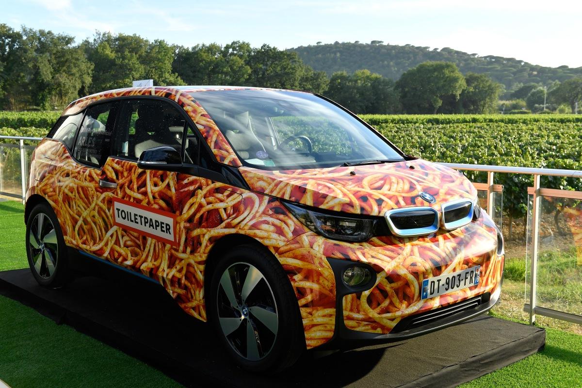 BMW i3 'Spaghetti Car' é leiloado por € 100 mil para ajudar fundação de LeonardoDiCaprio
