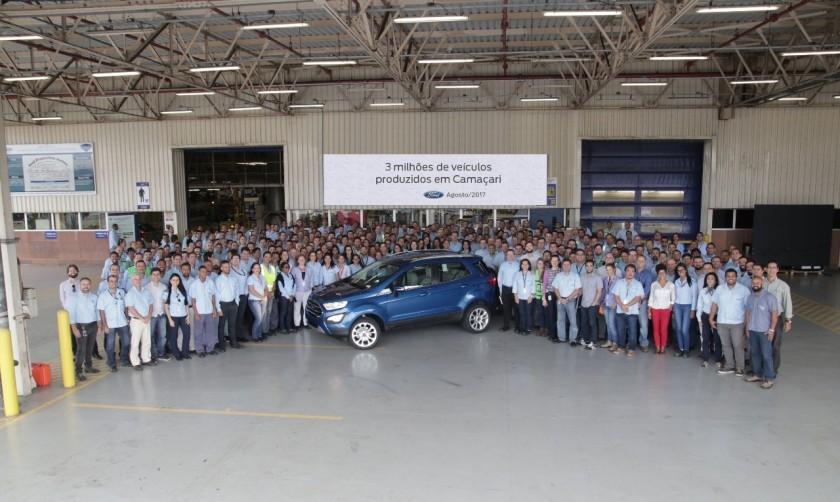 3 milhões-FordCamaçari