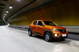 Renault Kwid. Foto: Rodolfo Buhrer / La Imagem / Renault