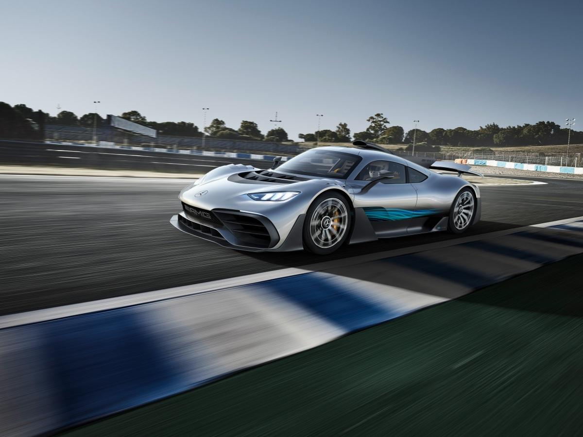 IAA 2017: Mercedes-AMG ProjectONE
