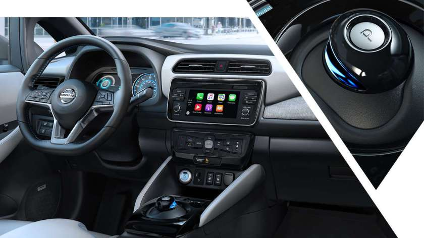 2018-nissan-leaf-interior-technology