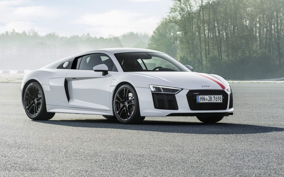 IAA 2017: Audi R8 V10RWS