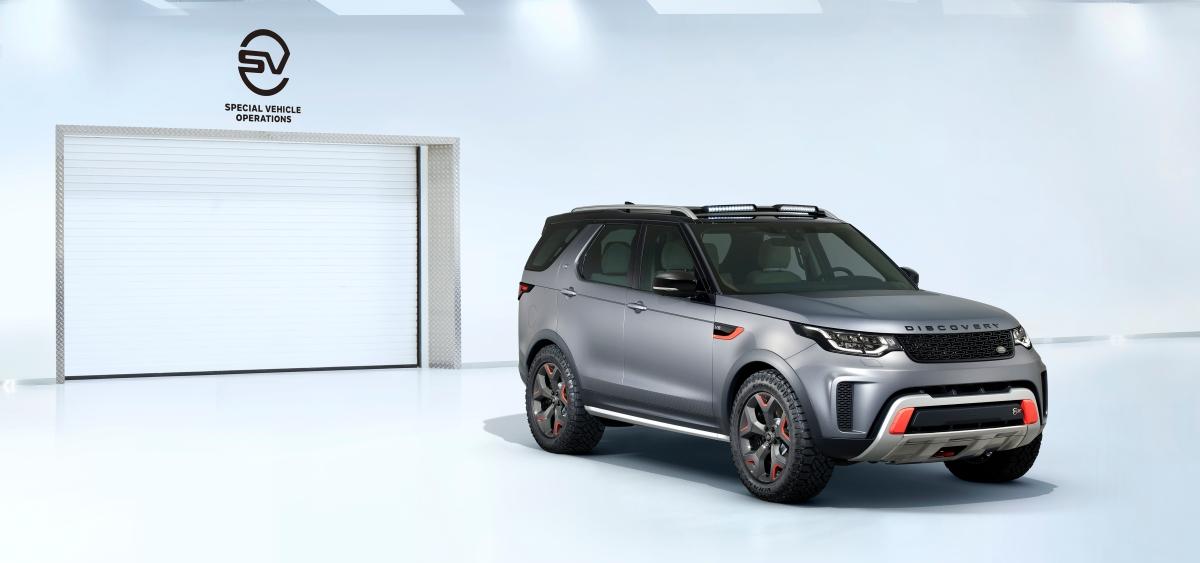 IAA 2017: Land Rover DiscoverySVX