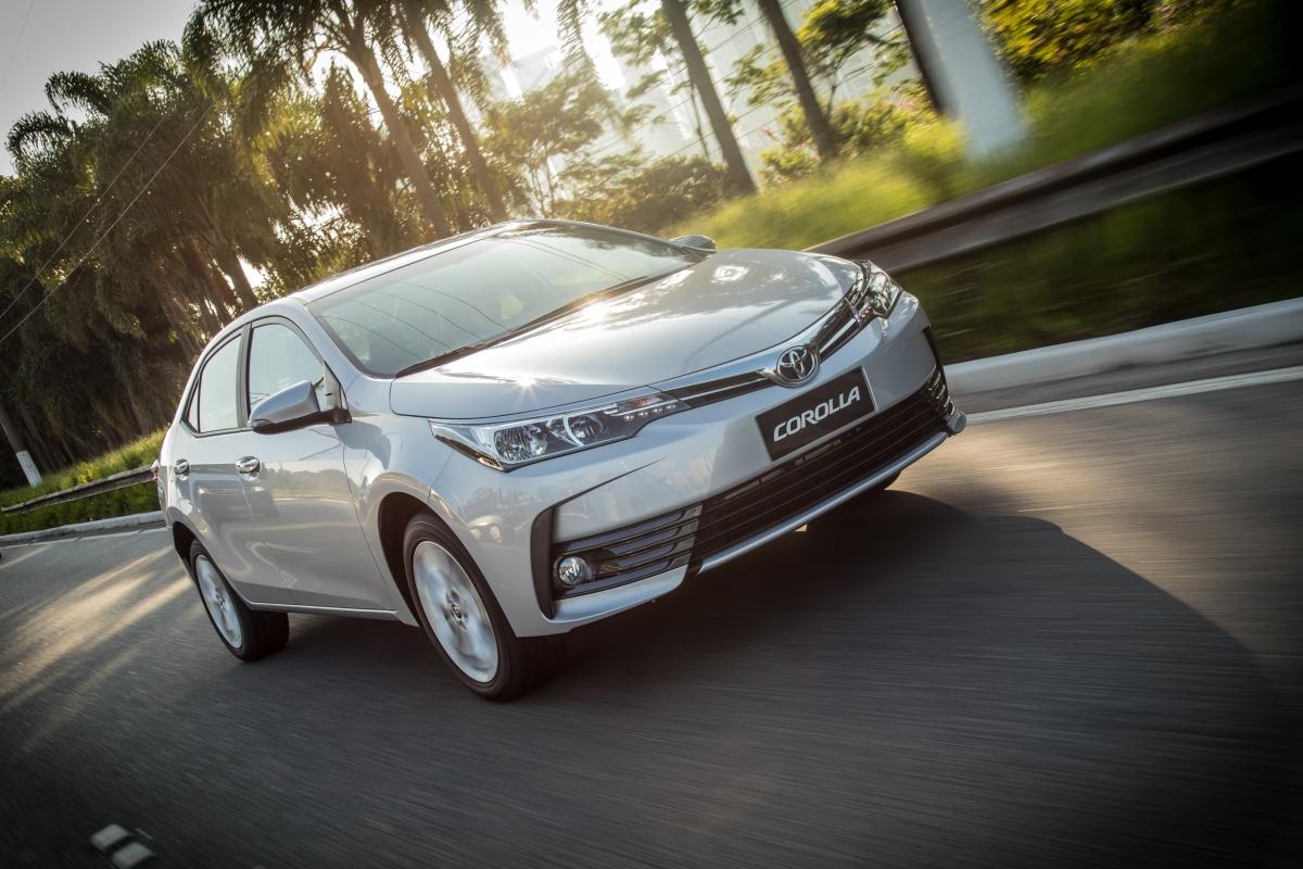 Toyota Corolla se consolida como o sedã mais seguro comercializado na AméricaLatina