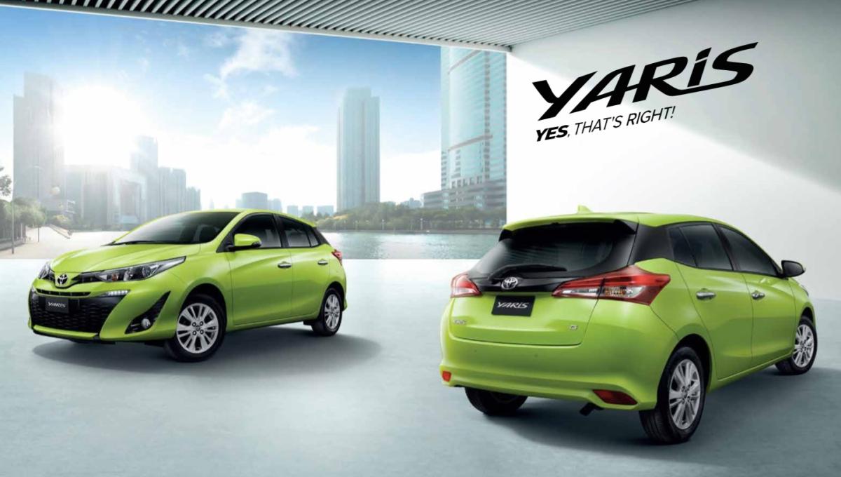 Toyota anuncia investimento de R$ 1,6 bi para produzir o novo Yaris noBrasil