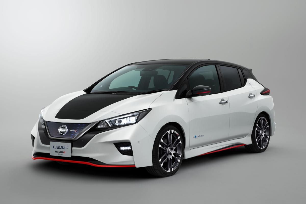 Nissan LEAF NISMO Concept será apresentado no Salão de Tóquio2017