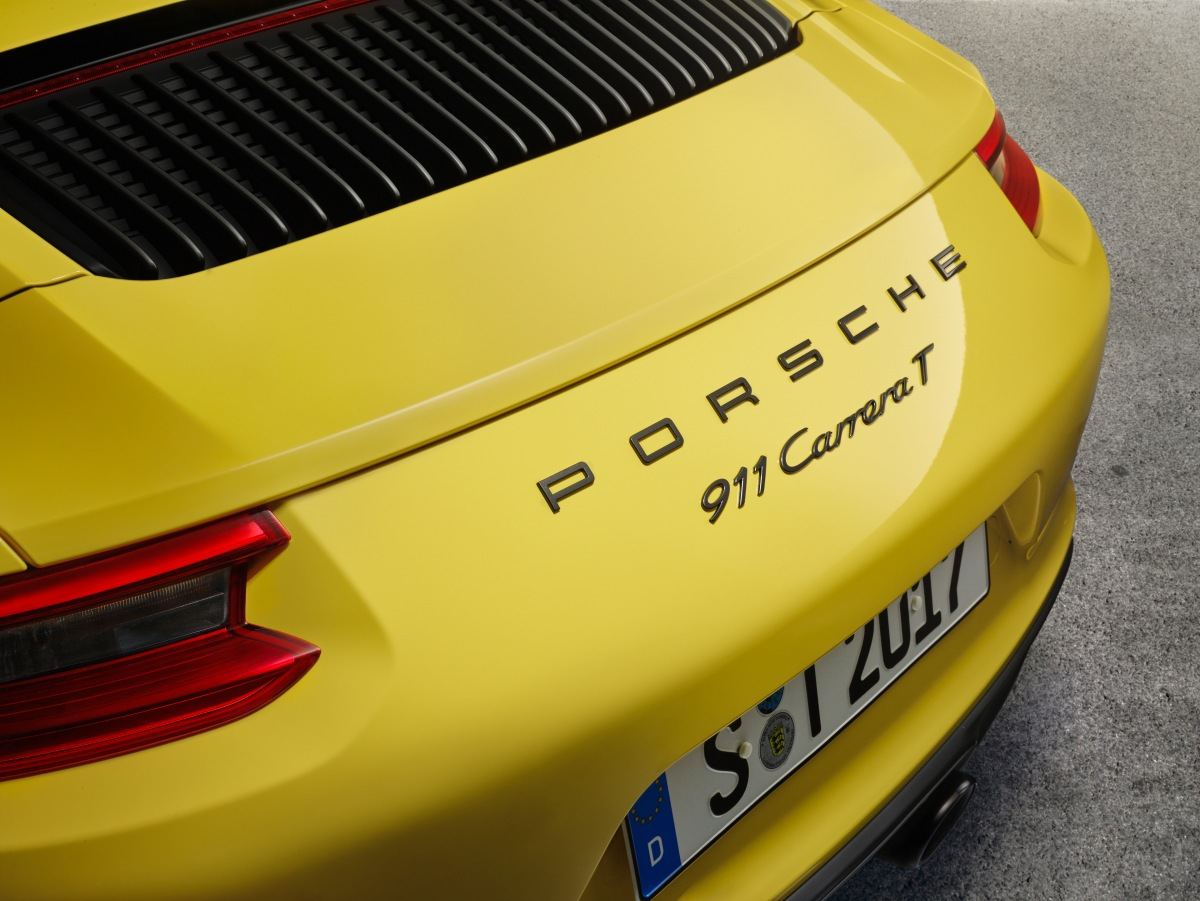 Novo Porsche 911 CarreraT
