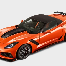 2019-Chevrolet-Corvette-ZR1-Convertible-front-side-view-top-up