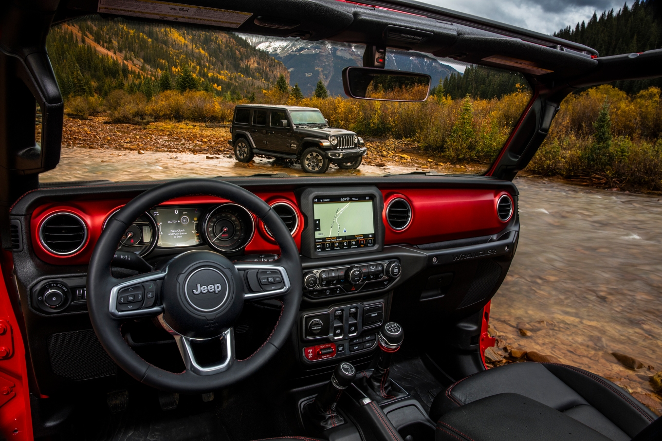 All-new 2018 Jeep® Wrangler Sahara (top) and All-new 2018 Jeep
