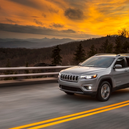 Introducing the new 2019 Jeep® Cherokee. The most capable mid-size sport-utility vehicle (SUV) boasts a new, authentic and more premium design, along with even more fuel-efficient powertrain options. Additional images and complete vehicle information will be available January 16, 2018, at the North American International Auto Show in Detroit.