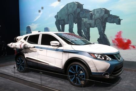 Estande da Nissan no Salão de Los Angeles é inspirado na saga cinematográfica Star Wars