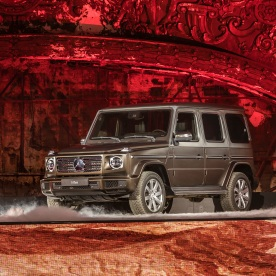 Mercedes-Benz Neujahrsempfang am Vorabend der North American International Auto Show (NAIAS) 2018. Weltpremiere der neuen Mercedes-Benz G-Klasse. Mercedes-Benz New Year's Reception on the eve of the 2018 North American International Auto Show (NAIAS). World Premiere of the new Mercedes-Benz G-Class.