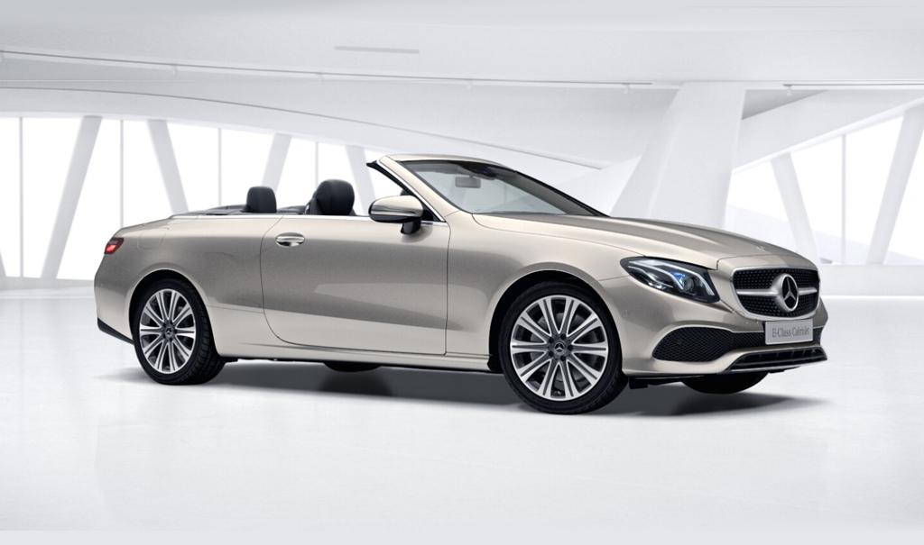 Mercedes lança o Classe E 300 Cabriolet no Brasil por R$413.900