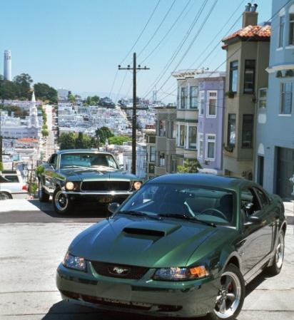 Mustang Bullit 2001- 3