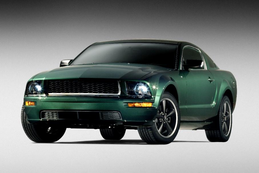 Mustang Bullit 2001- 4